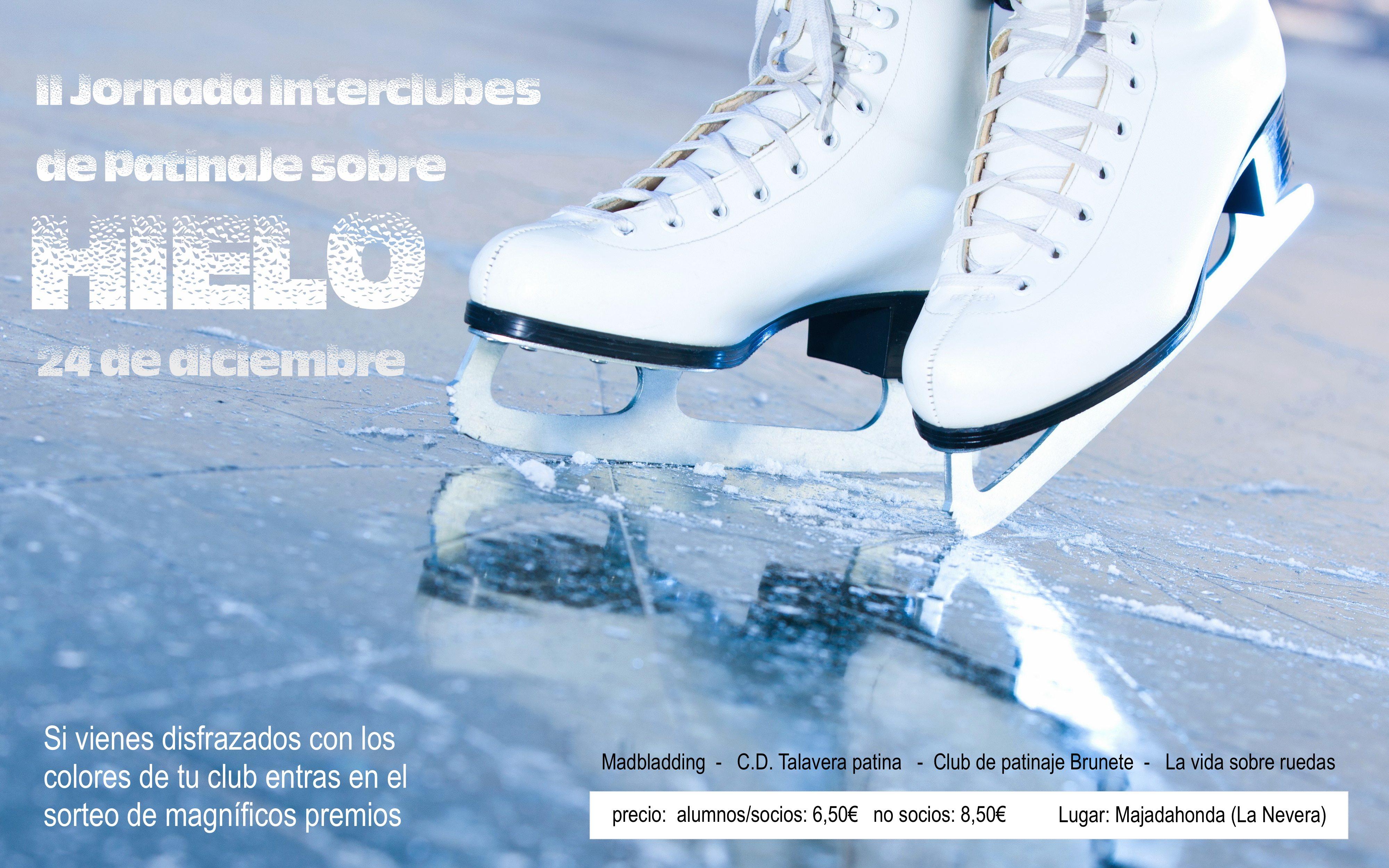 Ii jornada patinaje sobre hielo interclubes cd talavera for Pistas de patinaje sobre ruedas en madrid